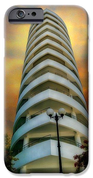 Balcony Digital Art iPhone Cases - The Condominium iPhone Case by Adrian Evans