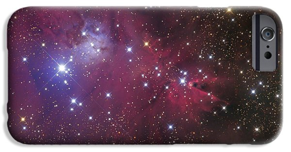 Constellations iPhone Cases - The Cone Nebula iPhone Case by Roth Ritter