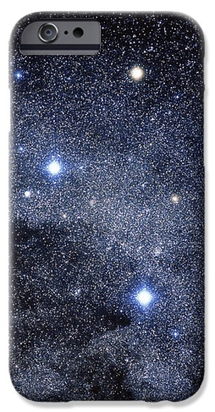Astrophysics iPhone Cases - The Constellation Of The Southern Cross iPhone Case by Luke Dodd