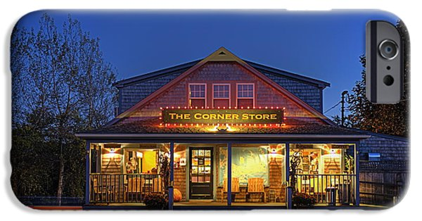 Chatham iPhone Cases - The Corner Store  iPhone Case by John Greim