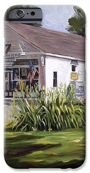The Country Store iPhone Case by Nancy Griswold