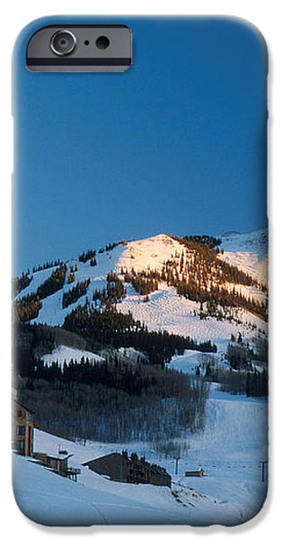 The Crested Butte iPhone Case by Jerry McElroy