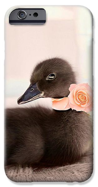 Little Girl iPhone Cases - The Debutante iPhone Case by Amy Tyler
