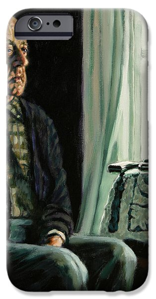 The Decision iPhone Case by John Lautermilch