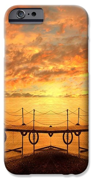 The Dock iPhone Case by Photodream Art
