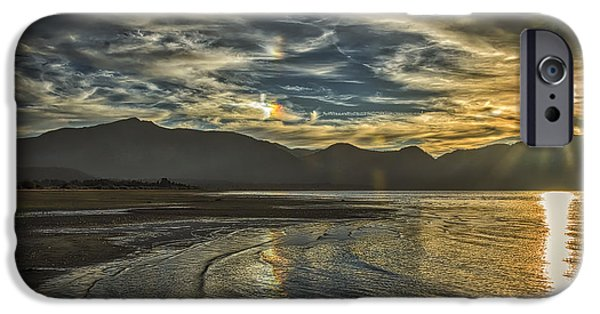 Beach Landscape iPhone Cases - The Dog Days Of Summer iPhone Case by Mitch Shindelbower
