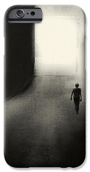 Self Discovery iPhone Cases - The Door iPhone Case by Melissa D Johnston