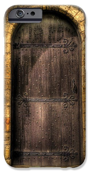 The Door iPhone Case by Svetlana Sewell