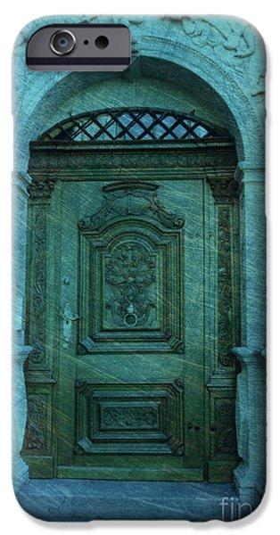 The Door to The Secret iPhone Case by Susanne Van Hulst