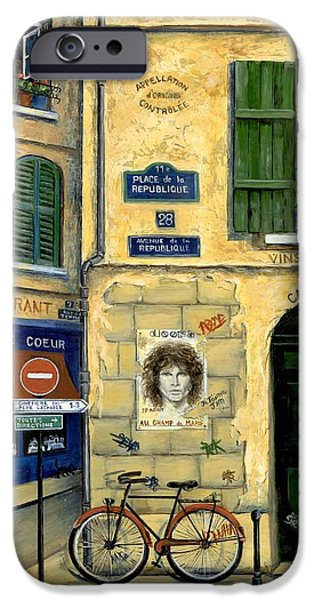 The Doors iPhone Case by Marilyn Dunlap