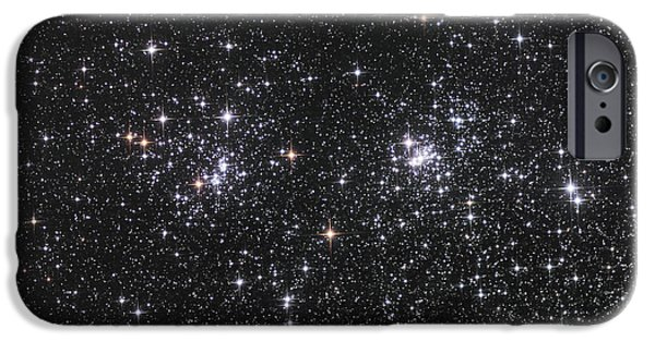 Constellations iPhone Cases - The Double Cluster, Ngc 884 And Ngc 869 iPhone Case by Robert Gendler