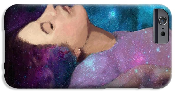 Fictional Star iPhone Cases - The Dreamer iPhone Case by Enzie Shahmiri