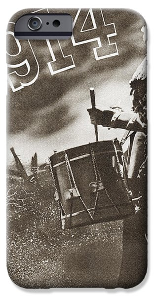 First Introduction iPhone Cases - The Drums Of War. Introduction To The iPhone Case by Ken Welsh