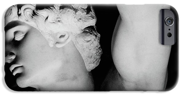 Pope iPhone Cases - The Dying Slave iPhone Case by Michelangelo Buonarroti