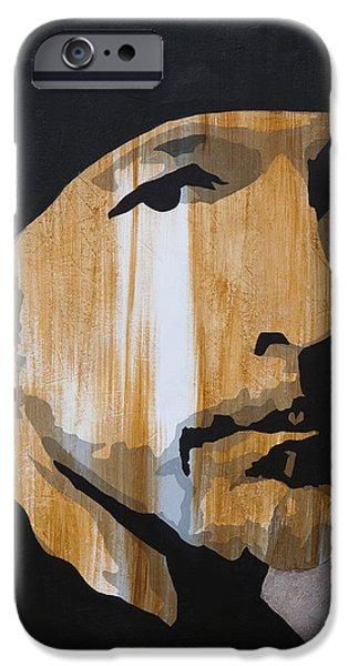 U2 iPhone Cases - The Edge iPhone Case by Brad Jensen