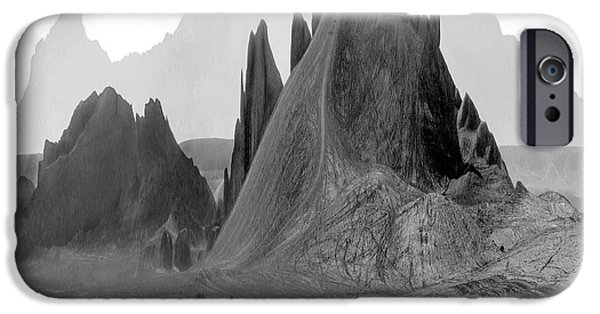 Mountains iPhone Cases - The Edge iPhone Case by Mike McGlothlen