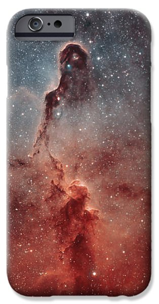The Elephant Trunk Nebula iPhone Case by Rolf Geissinger