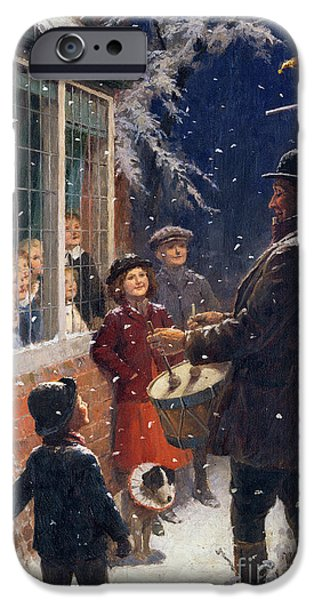 Child iPhone Cases - The Entertainer  iPhone Case by Percy Tarrant