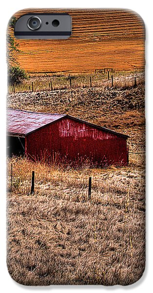 The Farm iPhone Case by David Patterson