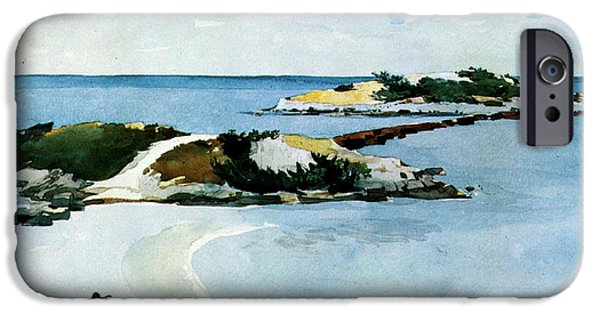 Winslow Homer iPhone Cases - The Favorite iPhone Case by Winslow Homer