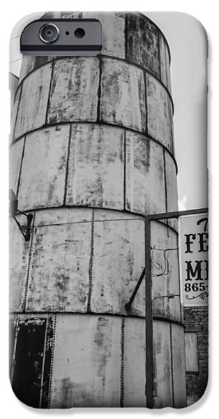 Feed Mill Photographs iPhone Cases - The Feed Mill iPhone Case by Craig Morrison