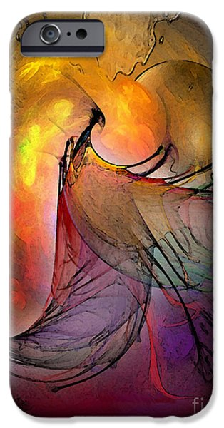 Fractal iPhone Cases - The Firedevil iPhone Case by Karin Kuhlmann