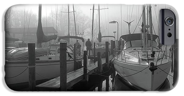 Oak Creek iPhone Cases - The Fog Is Lifting iPhone Case by Brian Wallace