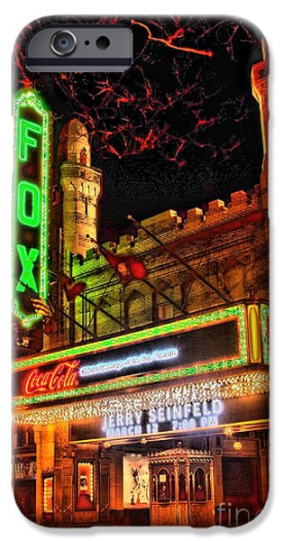 The Fox Theater Atlanta Ga. iPhone Case by Corky Willis Atlanta Photography