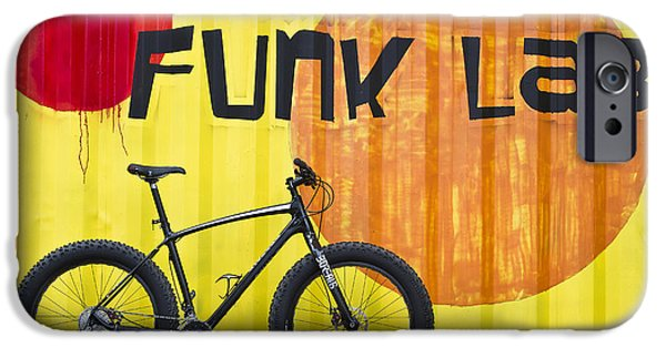 Fat Tire iPhone Cases - The Funk Lab iPhone Case by Bryan Keil