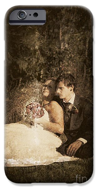 Bridegroom iPhone Cases - The Future Of A Marriage iPhone Case by Ryan Jorgensen