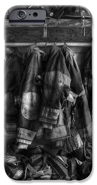The Gear of Heroes - Firemen - Fire Station iPhone Case by Lee Dos Santos