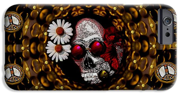 Coins Mixed Media iPhone Cases - The Global Economy In Art iPhone Case by Pepita Selles