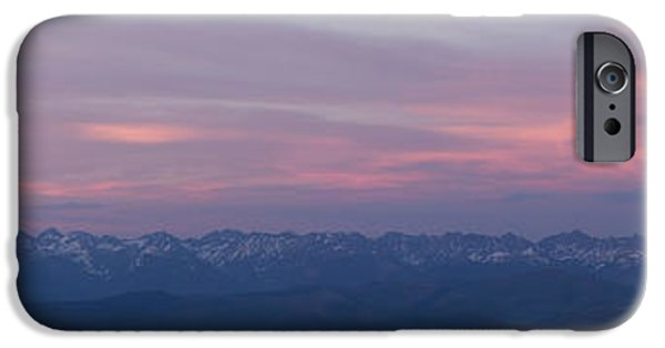 Gore iPhone Cases - The Gore Range iPhone Case by Aaron Spong