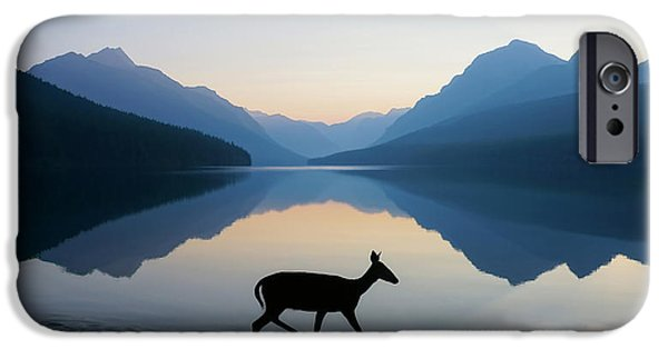 Calm iPhone Cases - The Grace of Wild Things iPhone Case by Dustin  LeFevre
