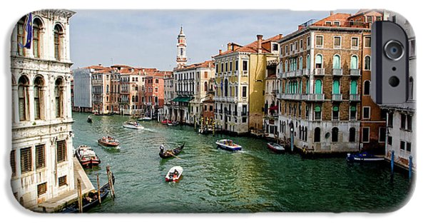 Wonderous iPhone Cases - The Grand Canal iPhone Case by Michelle Sheppard