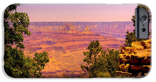 Grand Canyon iPhone Cases - The Grand Canyon VI iPhone Case by David Patterson