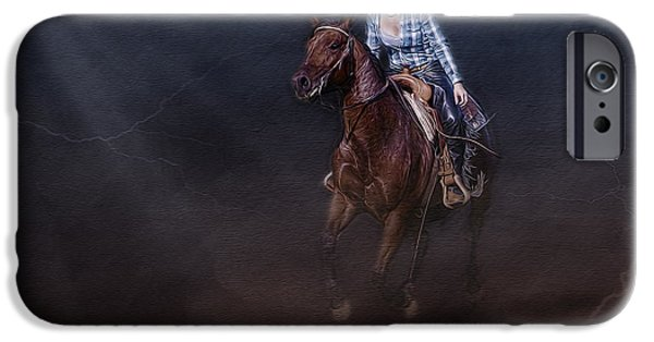 Chaps iPhone Cases - The Great Escape iPhone Case by Susan Candelario