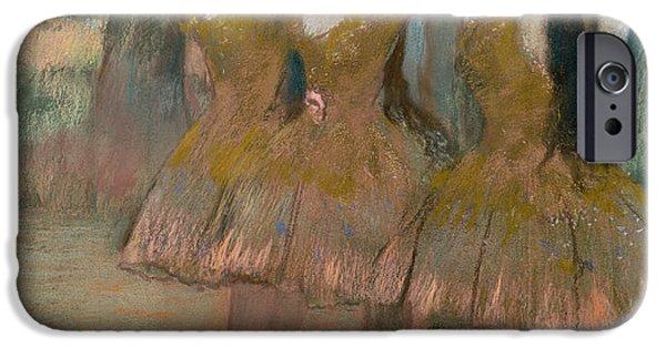 Ballet Dancers iPhone Cases - The Greek Dance iPhone Case by Edgar Degas