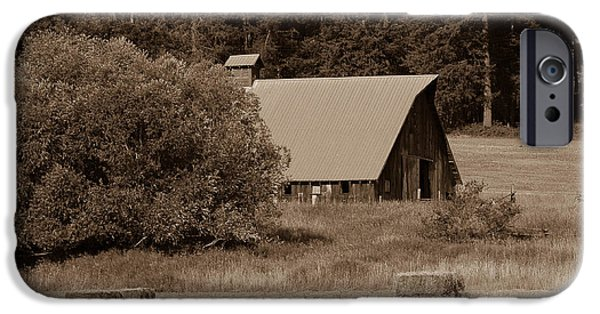 Old Barns iPhone Cases - The Hay Barn iPhone Case by Jacki Smoldon