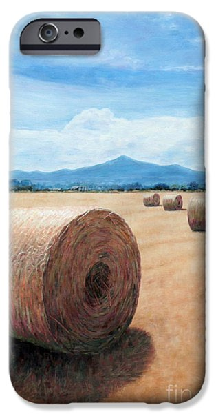 Recently Sold -  - Drama iPhone Cases - The Haystack iPhone Case by Theo Michael