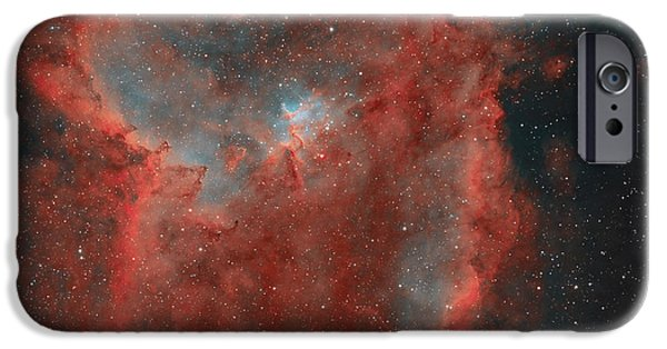 Stellar iPhone Cases - The Heart Nebula iPhone Case by Rolf Geissinger