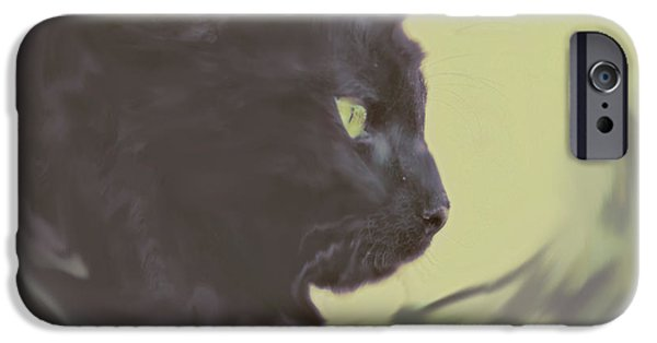 Young iPhone Cases - The Heart Of A Hunter iPhone Case by Wendy Martinez