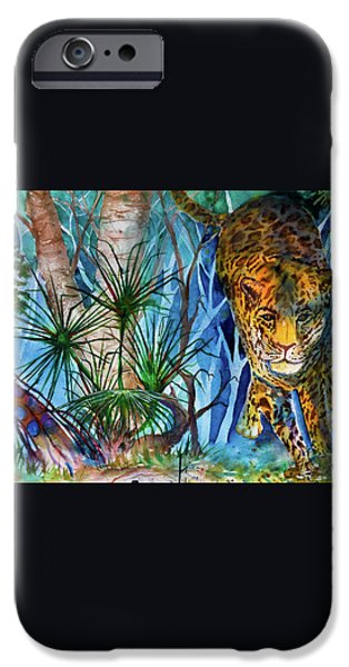 The Hunt iPhone Case by Larry  Johnson