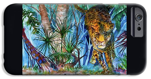 Preditor iPhone Cases - The Hunt iPhone Case by Larry  Johnson