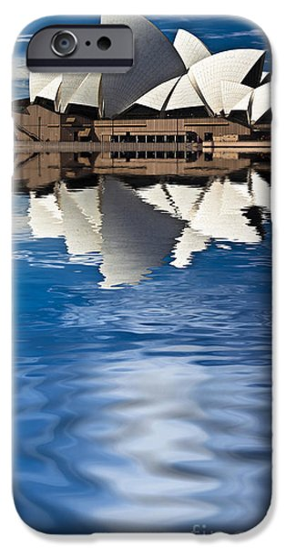 The iconic Sydney Opera House iPhone Case by Sheila Smart