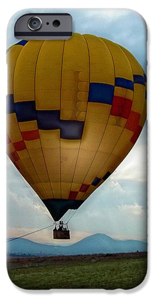 Hot Air Balloon iPhone Cases - The Impressionable Balloon iPhone Case by Glenn McCarthy Art and Photography