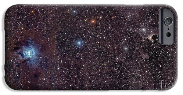 Stellar iPhone Cases - The Iris Nebula In Cepheus iPhone Case by John Davis