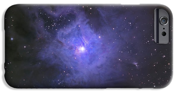 Constellations iPhone Cases - The Iris Nebula iPhone Case by Ken Crawford