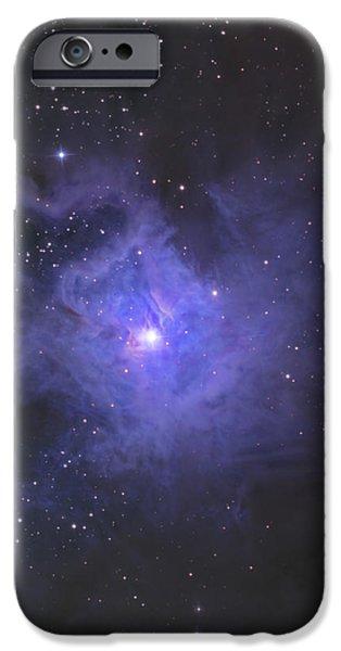 The Iris Nebula iPhone Case by Ken Crawford