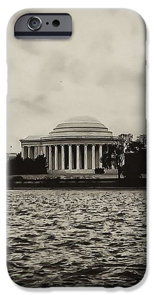 The Jefferson Memorial iPhone Case by Bill Cannon
